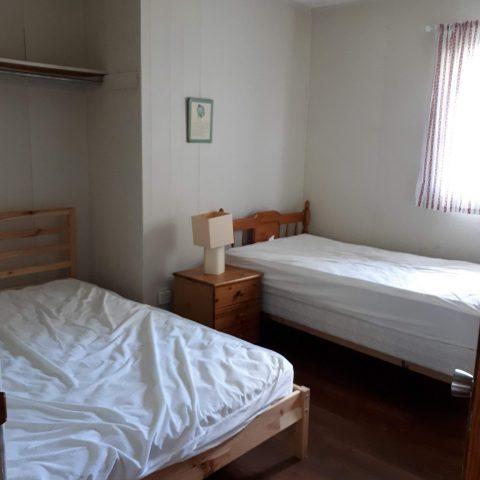 cottage master bedroom