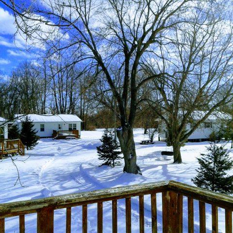 cottages winter